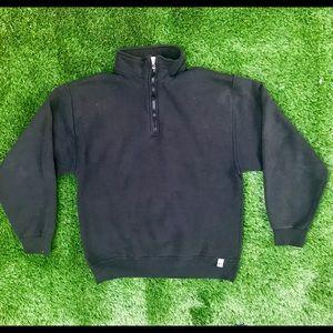 Russel Athletics 1/2 Zip Pullover Sweatshirt Med
